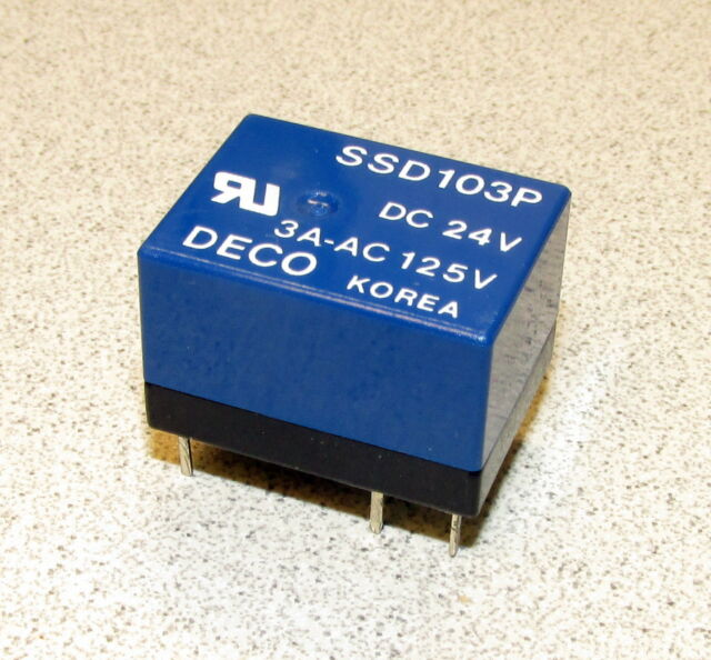 30VDC Contacts NEW Sky SKEB-1C-24 SPDT 24V DC Coil PC Mount Relay 10A @ 250VAC