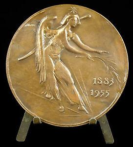 Medal-in-the-Artist-Maurice-Utrillo-Valadon-Sc-Corbin-034-the-Dons-of-Sky-034-Medal