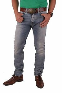 Diesel-Black-Gold-Herren-Jeans-Hose-Type-253-Slim-Destroyed