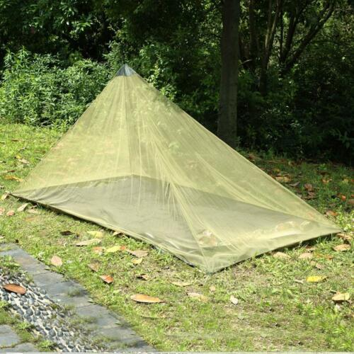 Portable Camping Hammock Insect Mosquito Mesh Tent Sleeping Canopy Fly Sheet