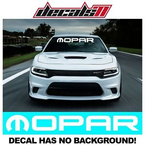 MOPAR WINDSHIELD VINYL DECAL