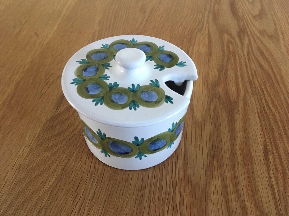 Keramik, Marmelade krukke, Julsminde /Bangsholm