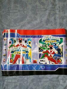 Vintage 2000 Paper Power Rangers Lightspeed Rescue lot of 2