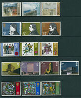 GB Decimal QEII 1971 Complete Commemorative Collection Superb M/N/H