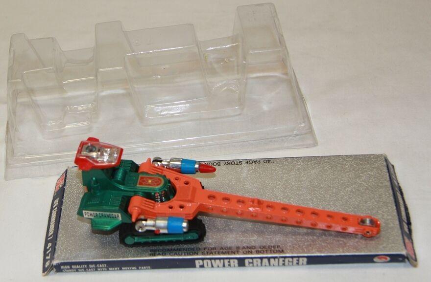 Vintage - spielzeug  macht cranegar druckguss - modell aus japan (xp)