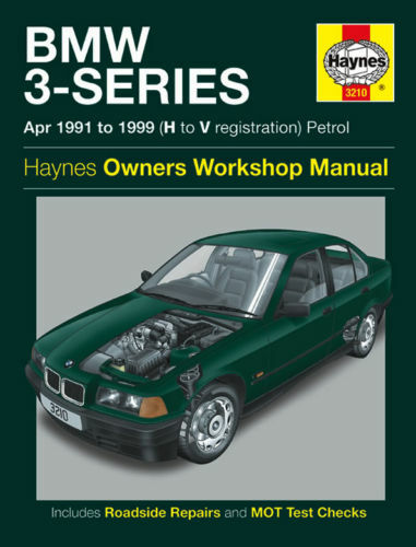 BMW 3-Series E36 316 318 320 323i 325 328 Haynes Manual 3210 NEW