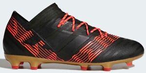 54a29259b306 Adidas Nemeziz 17.2 FG Soccer Cleats Black Red CP8970 Men s 13 New ...