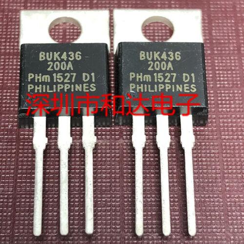 10 x BUK436-200A PowerMOS transistor TO-220