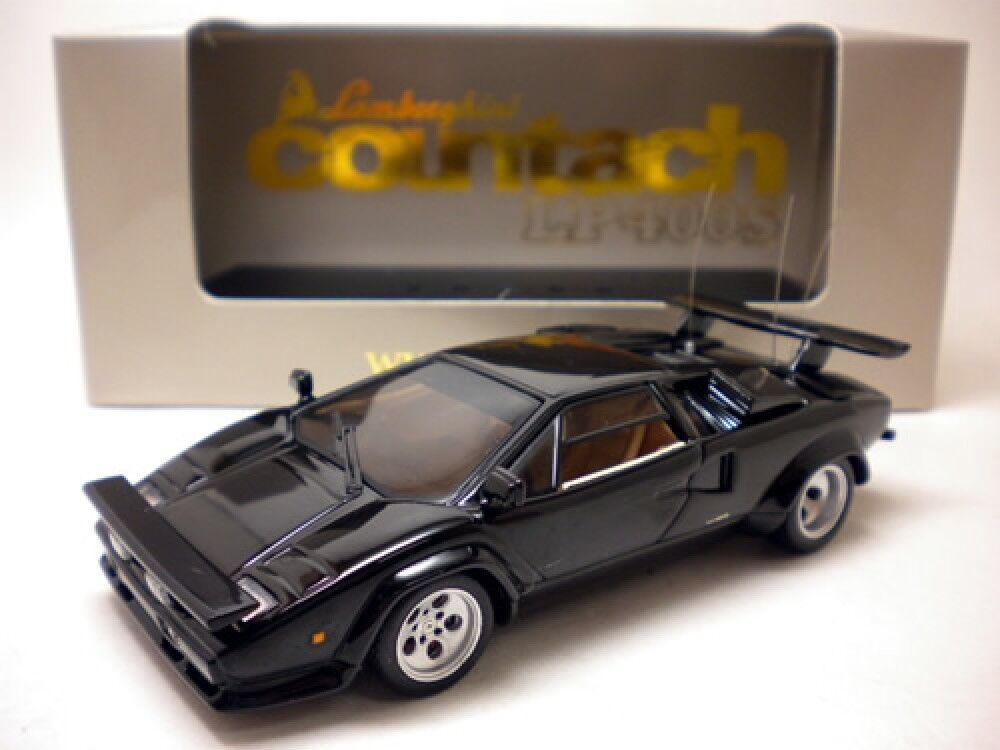 IXO 1 43 Lamborghini Countach LP400S 1981 nero Japón Regalo limitado ZI-L06 Rara