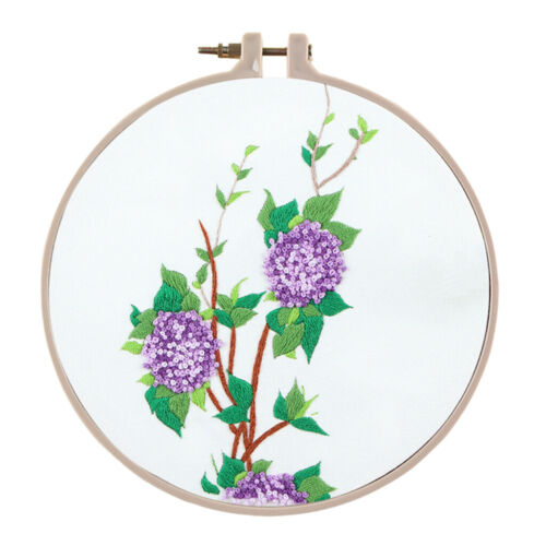 Su Embroidery Theme DIY Needlework Kits Embroidery Hoop Cross Stitch Crafts