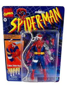 Marvel-Legends-Retro-6-034-Cyborg-Spider-Man-Figure-Target-Exclusive-In-Hand-2020