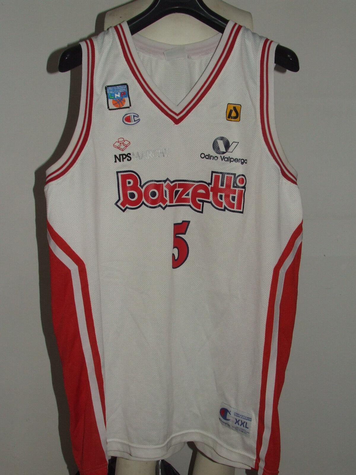 Trikot Maillot Trägerhemd Basketball matchworn Babu Senigallia Senigallia Senigallia No. 5  | Stilvoll und lustig  80ae9e