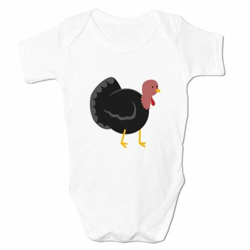 Baby Grow Clothes Novelty Gifts for Babies Boys Turkey Emoticon