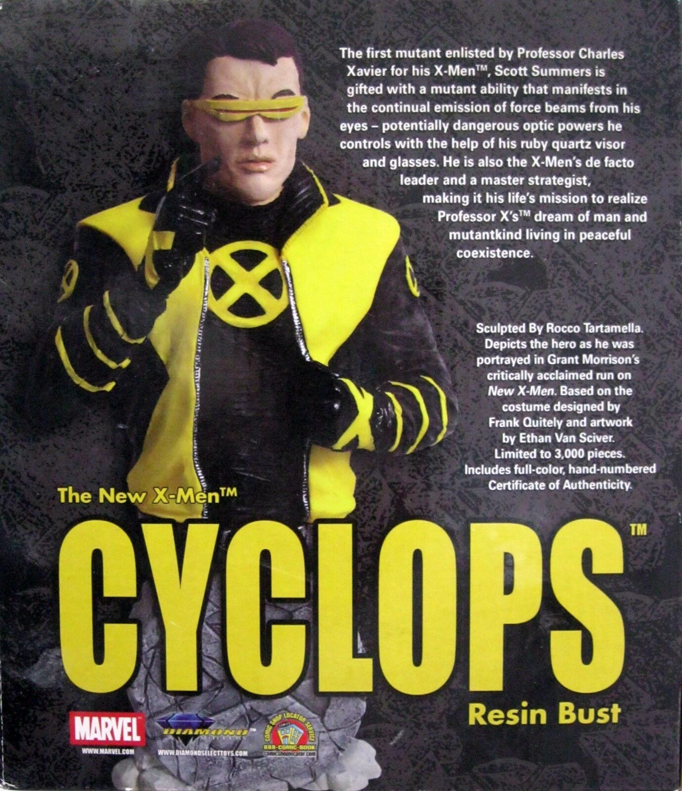 Bust CYCLOPS - Marvel Characters - - - X-Men - Ed. Limitata - Idea Regalo  5644a0