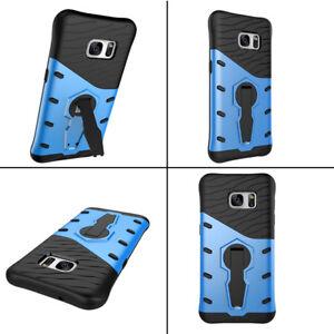 Antichoc-Protection-Arriere-Telephone-Etui-Housse-Avec-Support-Pour-Samsung-S7-S7-Edge