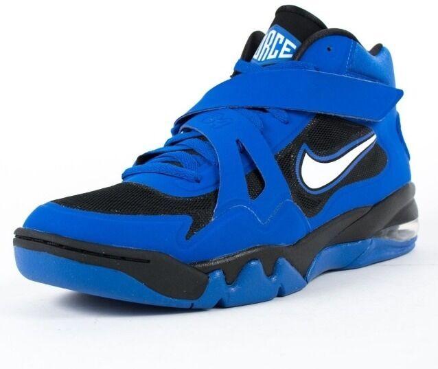 Nike Men's Air Force Max CB 2 HYP Basketball Shoes, Royal Blue & Black, Size 10