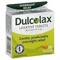 Dulcolax Laxative, Tablets, 50 Count