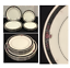 miniature 1 - VINTAGE-Noritake-Ivory-China-Dinner-amp-Salad-Plates-ETIENNE-7260-Japan-10-PC-Set