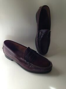 DEXTER-Made-in-USA-Leather-Penny-Loafers-Slip-on-Dress-Shoes-Mens-US-Size-10