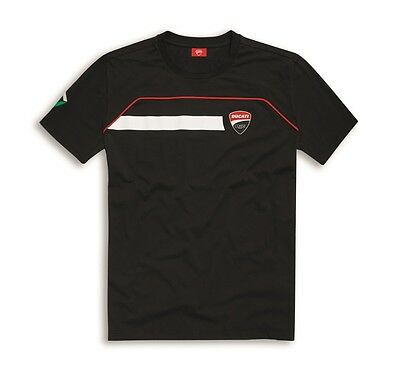 98769739 Tee Red Genuine Ducati Corse Men/'s 2018 Red Check T-Shirt