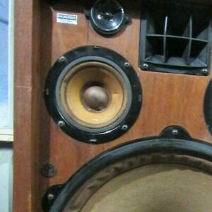 "Vintage Pioneer CS-99A 4"" Mid Speaker  NOT WORKING Dead"