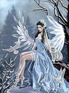 Winter-Angel-par-Nene-Thomas-SunsOut-1000-Piece-Fantasy-PUZZLE-NEUF
