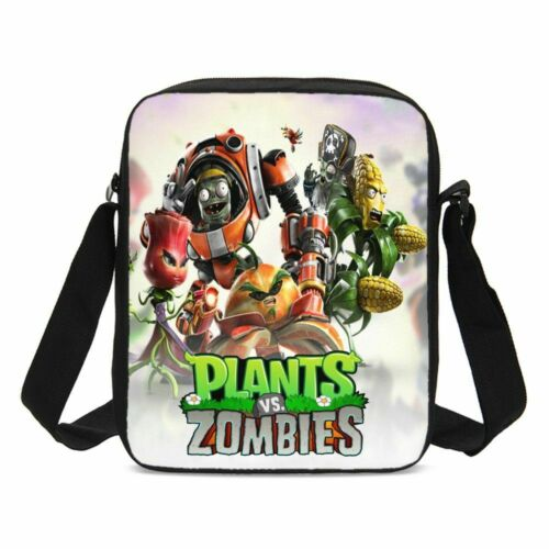 Plants vs Zombies 18/'/' Backpacks Insulated Lunch Bag Pen Case Shoulder Bags Lot