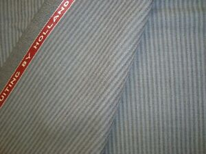 4-44-yd-HOLLAND-SHERRY-WOOL-FABRIC-Crispaire-Super-Fine-10-oz-SUITING-160-034-BTP
