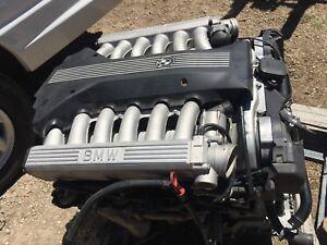 Image Is Loading 1998 BMW E38 V12 ENGINE MOTOR 750iL 750