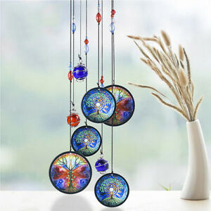 Tree-of-Life-17-034-Wind-Chime-Metal-Hanging-Ornament-Garden-Outdoor-Home-Decor