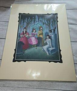 Disney-Parks-Haunted-Mansion-Haunted-Ladies-of-Larry-Nikolai-Deluxe-Print-NEW