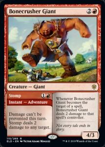 MTG-x4-Bonecrusher-Giant-Throne-of-Eldraine-RARE-NM-M-Magic-the-Gathering
