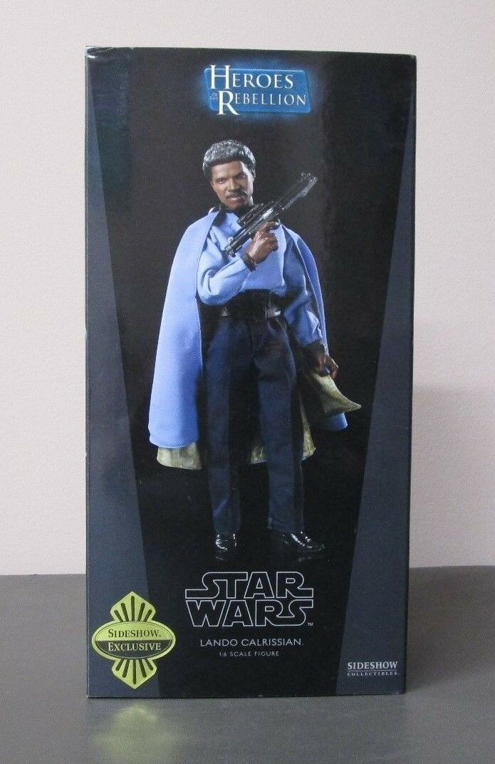 Lando Calrissian STAR WARS SIDESHOW Collectibles 1 6 Scale MIB Exclusive
