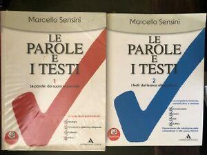 Le-Parole-e-I-Testi-Marcello-Sensini-Mondadori-Scuola-9788824737968