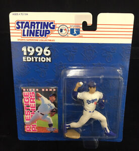 New Sealed HIDEO NOMO 1996 STARTING LINEUP MLB LOS ANGELES DODGERS WHITE VTG NIP