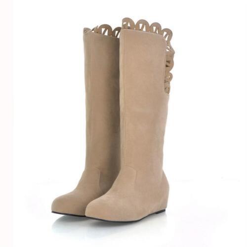 Cuir Confortable Comme Talon Brun Noir 9157 Chaussures Cm Bottes 4 Beige I068w8zq
