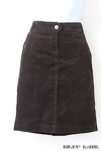 j crew brown corduroy pencil skirt just above knee length