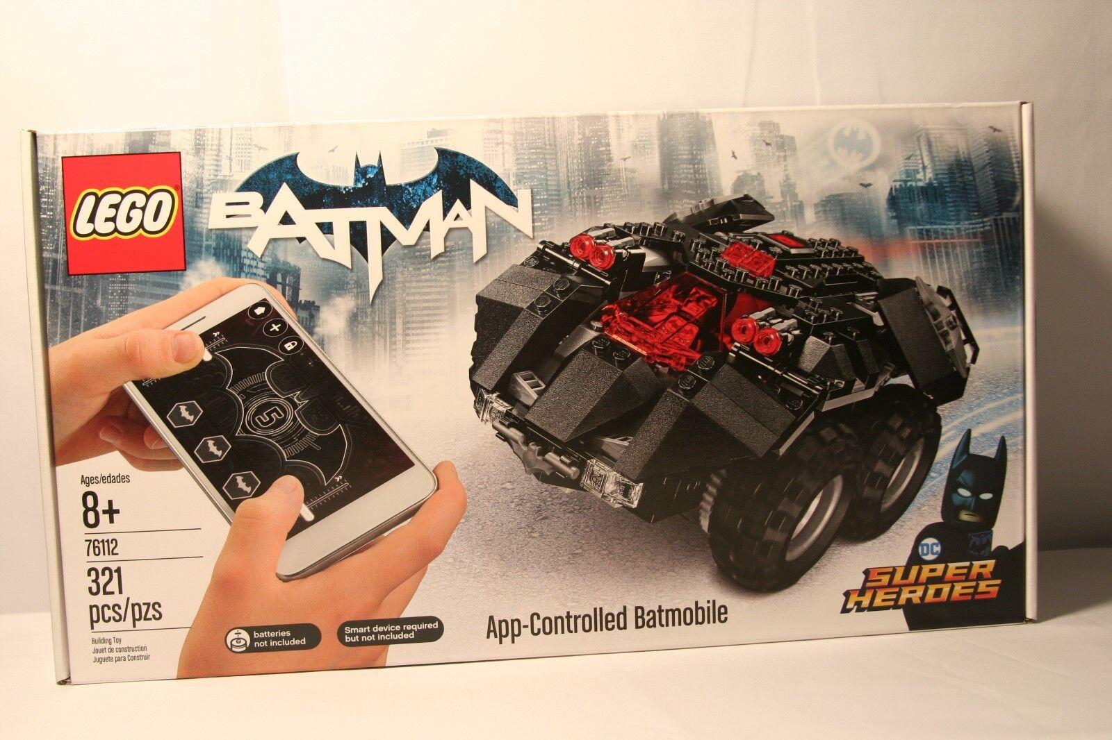 Lego DC Comics Super Heroes  App-Controlled Batmobile (76112) nuovo Sealed.  prima qualità ai consumatori
