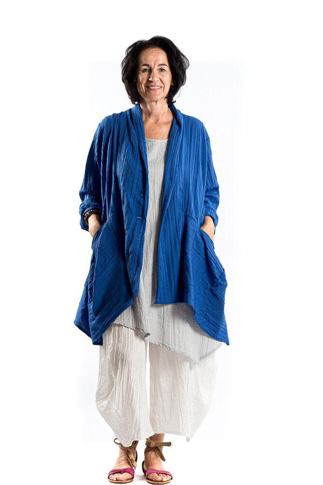 Champagne Horatio chaqueta  sol cuello bufanda talla XL azul Crash  cómodamente