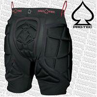 Protec Ips Padded Snowboard Impact Shorts & Skateboard Protection Pro-tec Black