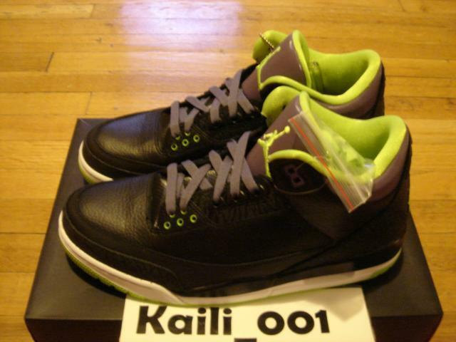 Nike air jordan 3 retro - joker bhm db zement 136064-018 ein