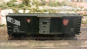 Mantua-Tyco-HO-034-Heavy-034-Die-Cast-Frame-PRR-DF-40-039-Boxcar-Exc