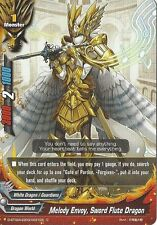 Buddyfight 4x D-BT02A-EB03/0031EN - C - Melody Envoy, Sword Flute Dragon