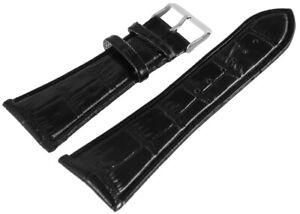 Kunstleder-Ersatzarmband-Uhrenband-Schwarz-30-mm-Ersatzband-X-RP8321030075