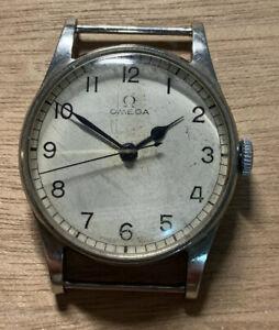 1940s Omega military 6b/159 HS9 30t2 SC wristwatch.