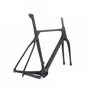 New-Design-Carbon-Fiber-Flat-Mount-Disc-Brake-Gravel-Cyclocross-Bike-Frameset