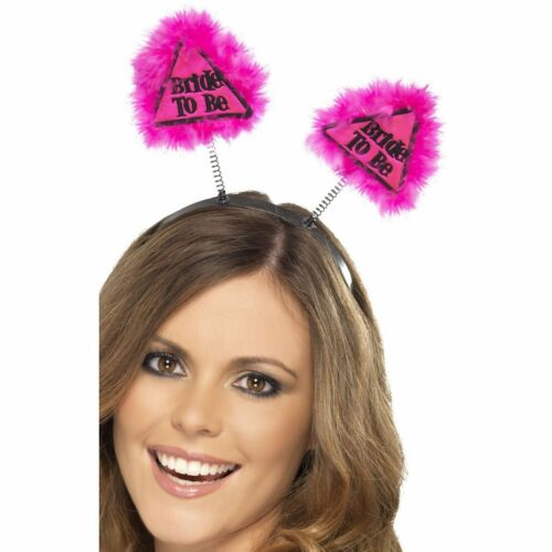 Pink BRIDE TO BE Hen Party Boppers