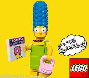 LEGO SIMPSONS Minifigur 03 Marge Simpson mit Handtasche und Donut Rezept