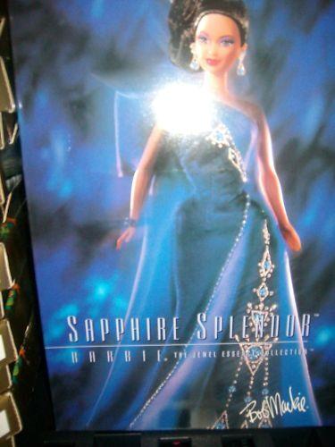 1997 Sapphire Splendor Barbie Bob Mackie Collector Edition