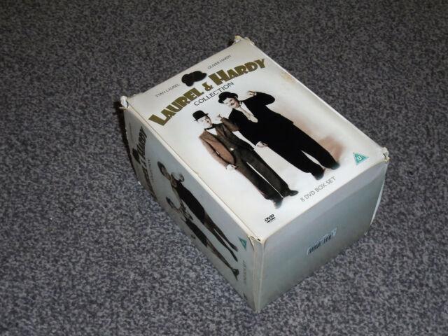 LAUREL & HARDY COLLECTION : VOLUMES 1 - 8 DVD BOXSET IN VGC (FREE UK P&P)